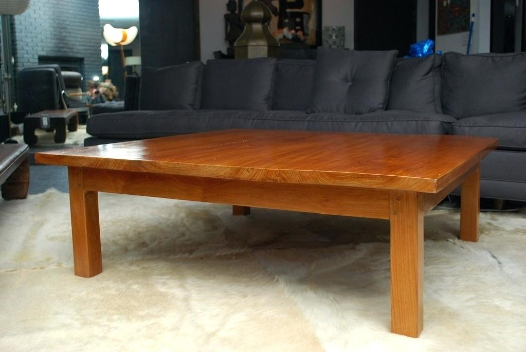 Teak Wood Coffee Table – Offlineauv Within Large Teak Coffee Tables (Photo 9 of 40)