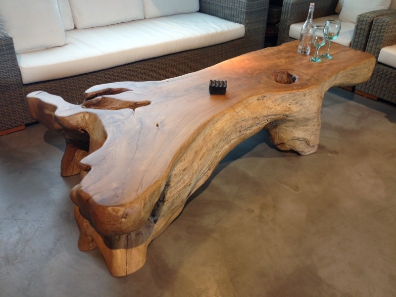 Teak Wood Coffee Tables – Damabianca In Live Edge Teak Coffee Tables (Image 40 of 40)