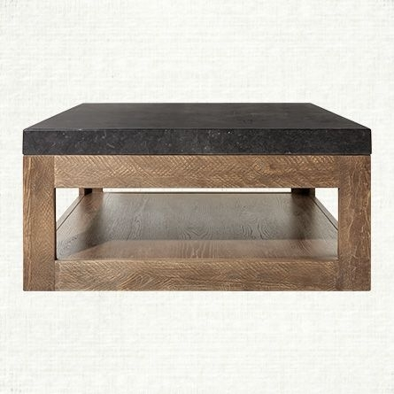 "Thayer 38"" Coffee Table In Ashland Natural 