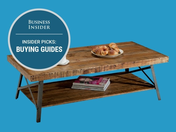 The Best Coffee Tables You Can Buy – Business Insider With Regard To Suspend Ii Marble And Wood Coffee Tables (Image 35 of 40)