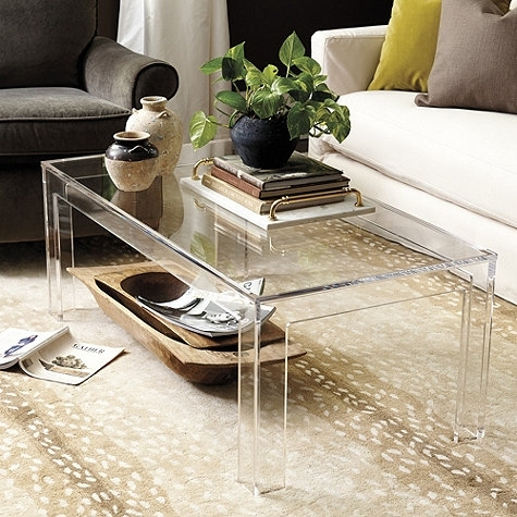 The Peak Of Très Chic: 4 Designer Pieces For Less With Regard To Disappearing Coffee Tables (View 5 of 40)