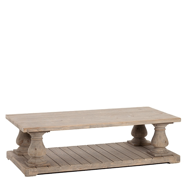 The Versaille Coffee Table – Reclaimed Pine Coffee Table – Living Room Regarding Reclaimed Pine Coffee Tables (View 25 of 40)