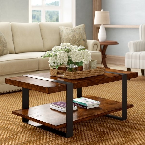 Tillman Coffee Table | Wayfair Intended For Autumn Cocktail Tables With Casters (Image 38 of 40)
