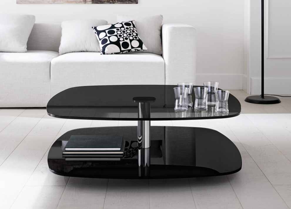 Traditional Black Coffee Tables At Tonelli Lessico Square Table With Darbuka Black Coffee Tables (Photo 29 of 40)