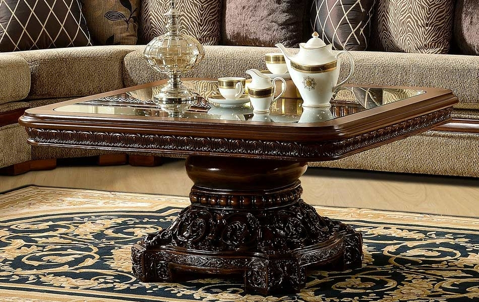 Traditional Coffee Table Hd2211 | Classic Console Tables Regarding Traditional Coffee Tables (View 32 of 40)