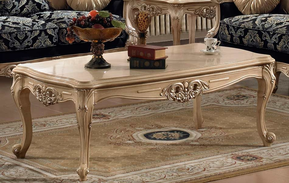 Traditional Luxury Coffee Table Hd30 | Classic Console Tables Throughout Traditional Coffee Tables (View 9 of 40)