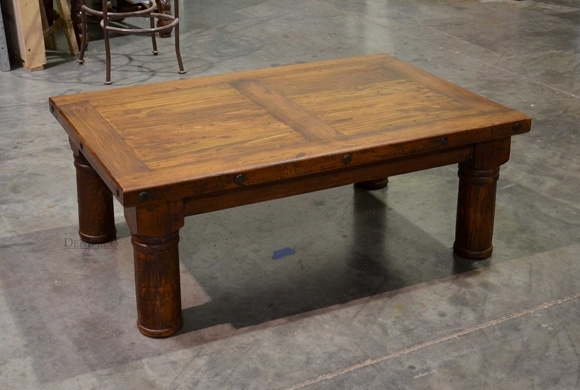 Traditional Old World Coffee Table – Demejico For Traditional Coffee Tables (View 15 of 40)