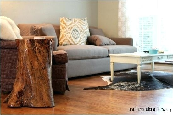 Tree End Table Tree Trunk Slices Tree Trunk Table Tree Stump Inside Sliced Trunk Coffee Tables (View 34 of 40)