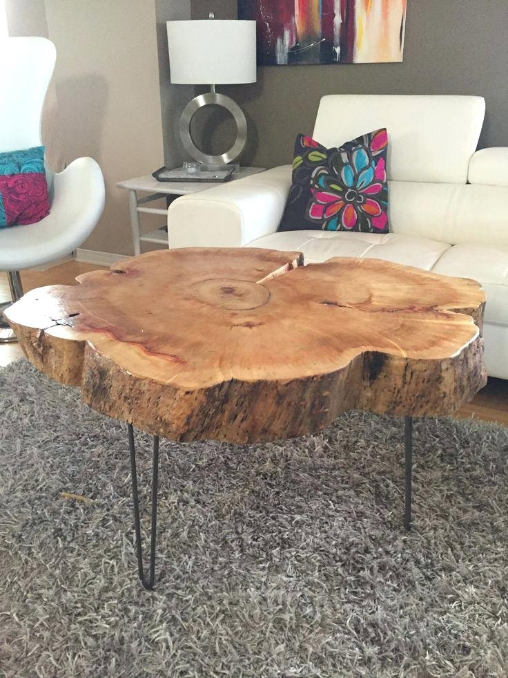 Tree Trunk End Table – Drinkpurjus Inside Sliced Trunk Coffee Tables (View 6 of 40)