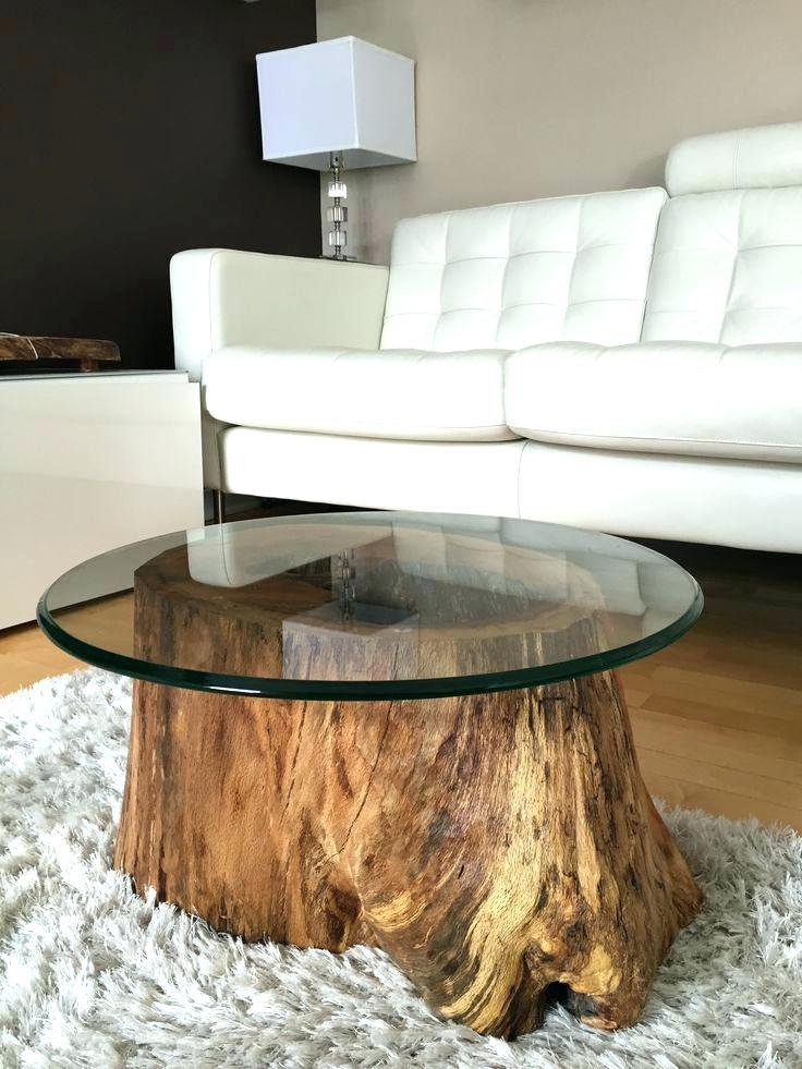 Tree Trunk Slice Coffee Table – Subliminally Inside Sliced Trunk Coffee Tables (View 13 of 40)