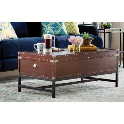 Trent Austin Design Aztec Coffee Table With Lift Top & Reviews | Wayfair Pertaining To Grant Lift Top Cocktail Tables With Casters (Image 40 of 40)