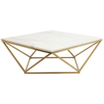 Triangle Motif Coffee Table – Products, Bookmarks, Design Intended For Intertwine Triangle Marble Coffee Tables (View 12 of 40)