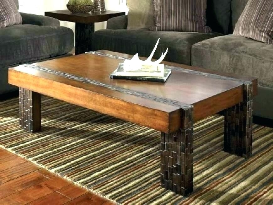 Tribecca Home Myra Vintage Industrial Modern Rustic Coffee Table Intended For Modern Rustic Coffee Tables (Image 39 of 40)