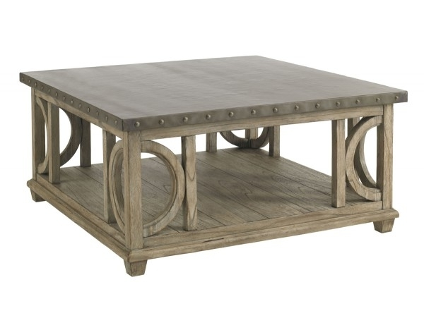 Twilight Bay Wyatt Cocktail Table | Lexington Home Brands Pertaining To Wyatt Cocktail Tables (Image 28 of 40)