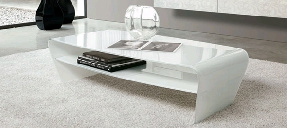 Unico Italia Furniture: Homefrenzy Regarding Contemporary Curves Coffee Tables (View 3 of 40)