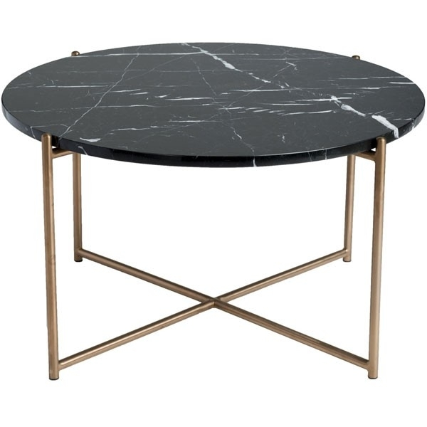 Venice Round Marble Coffee Table – (View 18 of 40)
