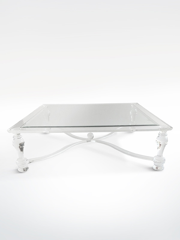 Victoria Square Perspex Coffee Table – House & Haven With Regard To Haven Coffee Tables (Photo 11 of 40)