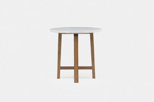 Viewing Neri&hu 754Sm Trio Side Table With Marble Top Product Regarding Suspend Ii Marble And Wood Coffee Tables (Image 37 of 40)