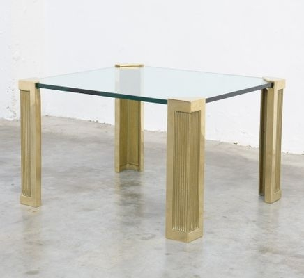 Vintage Brass Coffee Tablepeter Ghyczy For Sale At Pamono Throughout Antique Brass Coffee Tables (View 25 of 40)