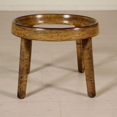 Vintage Coffee Table In Decorative Wood & Glass For Sale At Pamono Regarding Vintage Wood Coffee Tables (Image 28 of 40)