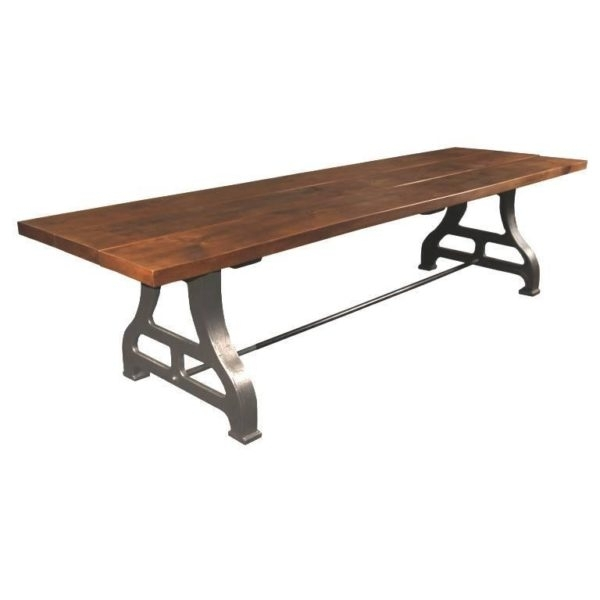 Vintage Industrial Tables – The Art Of Industrial – Get Back, Inc. With Reclaimed Elm Cast Iron Coffee Tables (Photo 36 of 40)