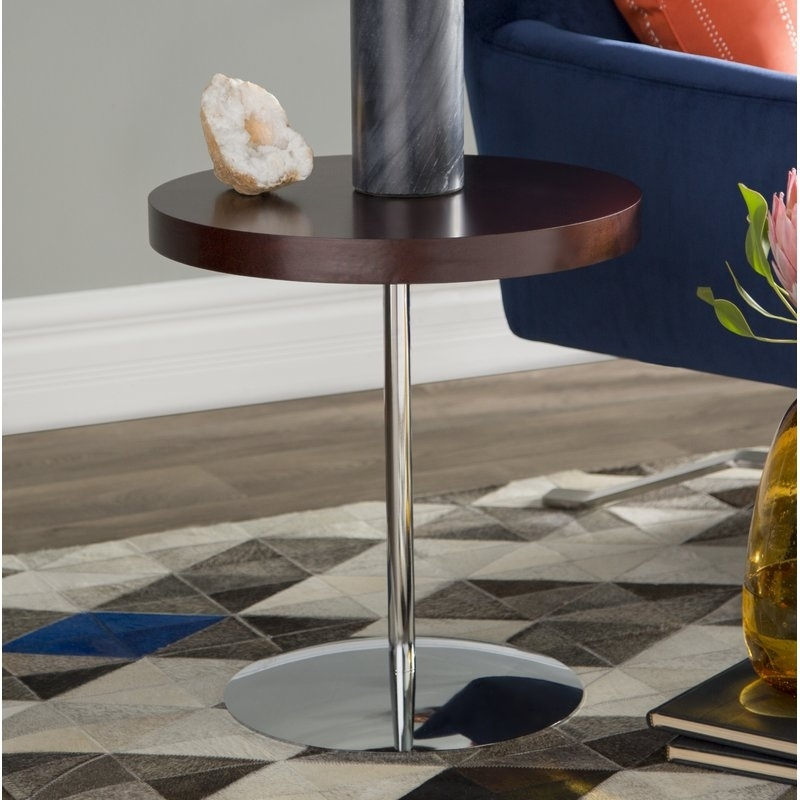 Wade Logan Acosta Wood Adjustable End Table & Reviews | Wayfair Regarding Potomac Adjustable Coffee Tables (Image 31 of 40)