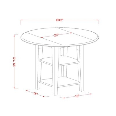 Wade Logan Potomac Pub Table & Reviews | Wayfair In Potomac Adjustable Coffee Tables (View 24 of 40)