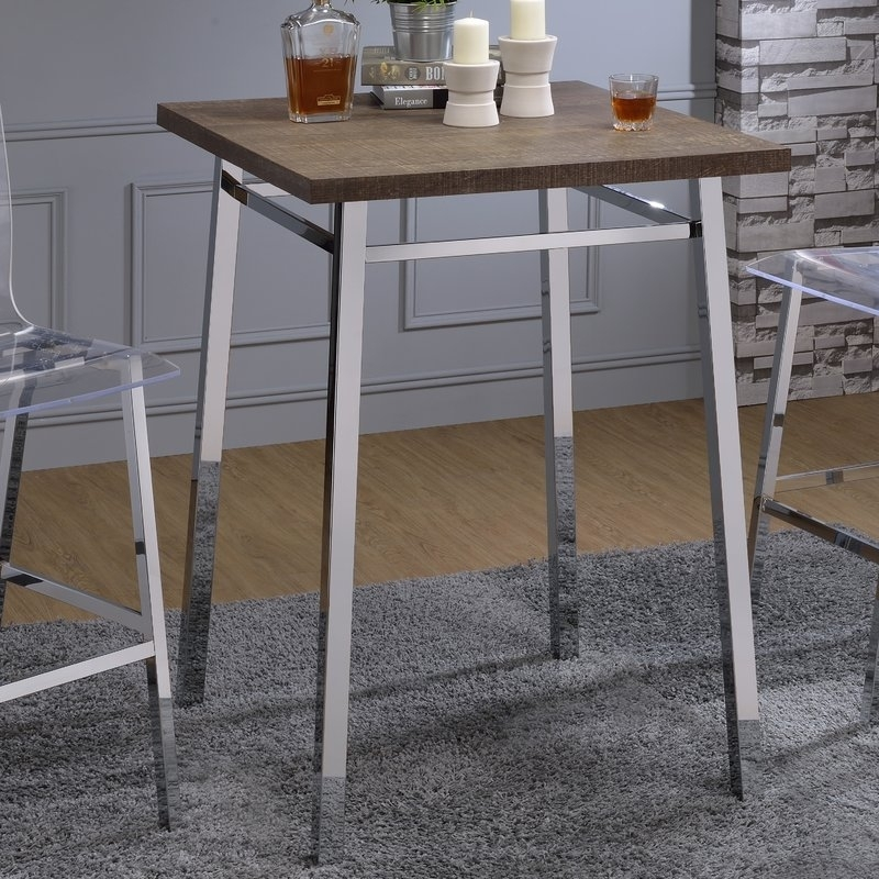Wade Logan Potomac Pub Table & Reviews | Wayfair Regarding Potomac Adjustable Coffee Tables (Image 35 of 40)