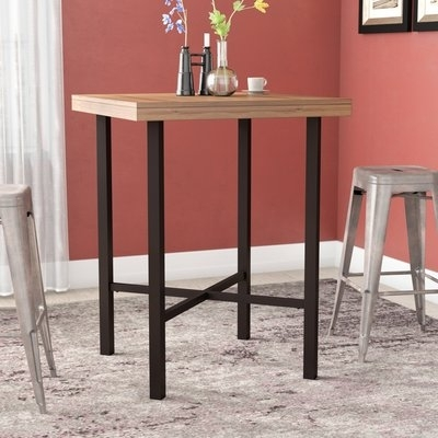Wade Logan Potomac Pub Table Set & Reviews | Wayfair Regarding Potomac Adjustable Coffee Tables (Image 37 of 40)