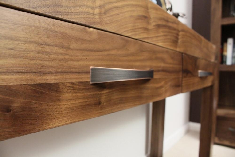 Walnut Furniture – Solid Walnut Furniture – Living Room Furniture Inside Walnut 4 Drawer Coffee Tables (View 36 of 40)