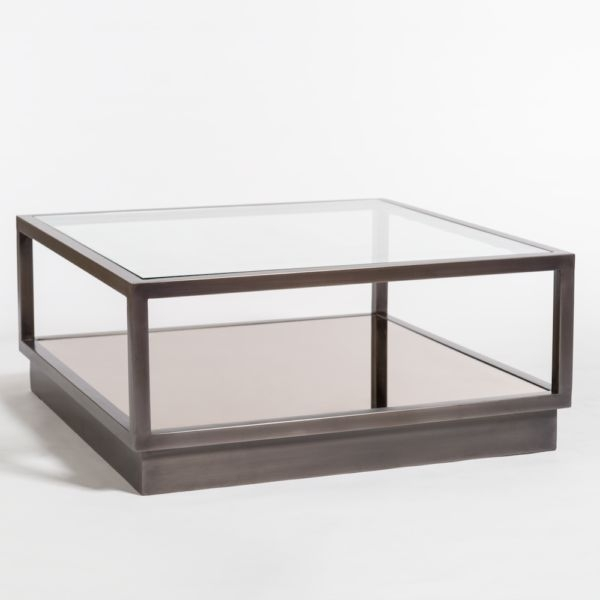 Warren Coffee Table–Gunmetal Finish – Beckman's Within Gunmetal Coffee Tables (View 11 of 40)