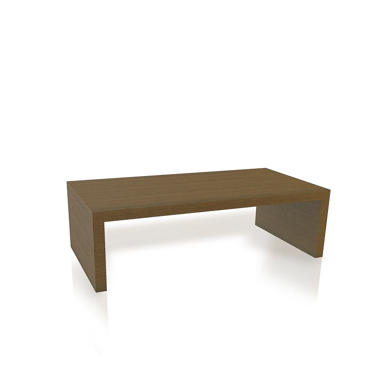 Waterfall Coffee Table With Square Edge – Hyde Park Home In Square Waterfall Coffee Tables (Image 37 of 40)