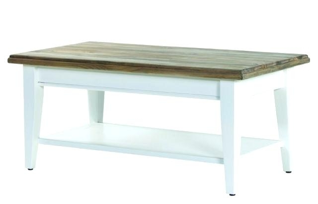 White Painted Coffee Table – Curepain (View 5 of 40)