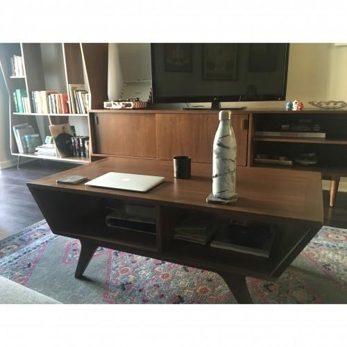 Wick Coffee Table   Joybird Inside Walnut Finish 6 Drawer Coffee Tables (View 39 of 40)