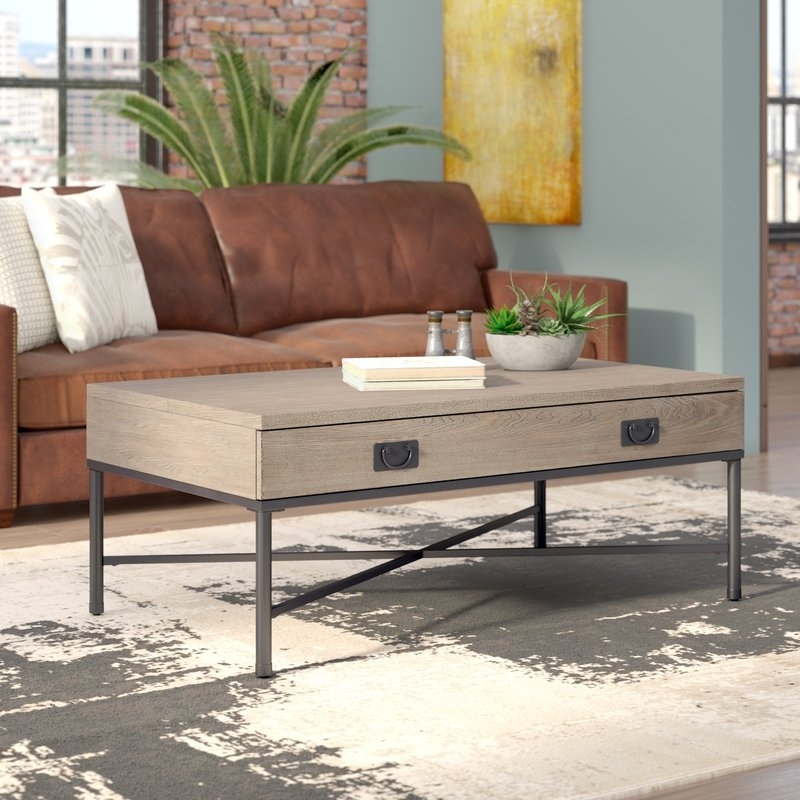 Williston Forge Kori Lift Top Coffee Table | Wayfair Throughout Jasper Lift Top Cocktail Tables (Image 40 of 40)