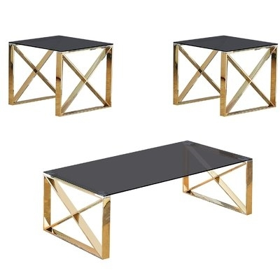 Winston Porter Stagner 3 Piece Coffee Table Set | Wayfair Inside Kelvin Lift Top Cocktail Tables (Image 39 of 40)