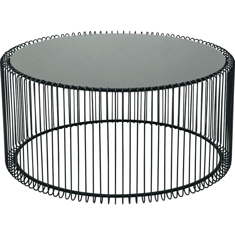 Wire Coffee Table Wire Coffee Table Wire Coffee Tables Gold Wire In Black Wire Coffee Tables (Image 37 of 40)