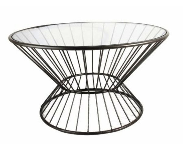 Wire Frame Coffee Table | Wayfair Intended For Black Wire Coffee Tables (Image 38 of 40)
