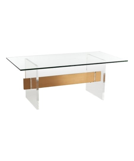 Featured Image of Acrylic & Brushed Brass Coffee Tables