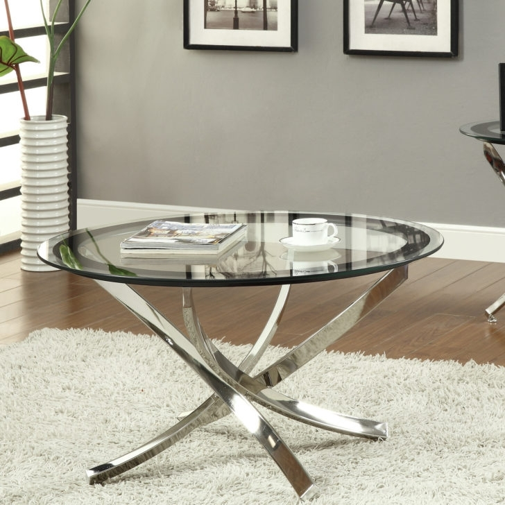 Wonderful Small Round Glass Coffee Table Design (View 8 of 40)