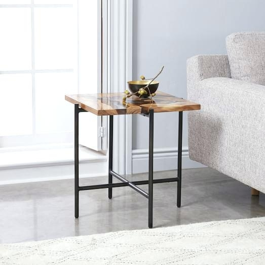 Wood Side Table Suspend Ii Marble And Wood Coffee Table Small Side For Suspend Ii Marble And Wood Coffee Tables (View 7 of 40)
