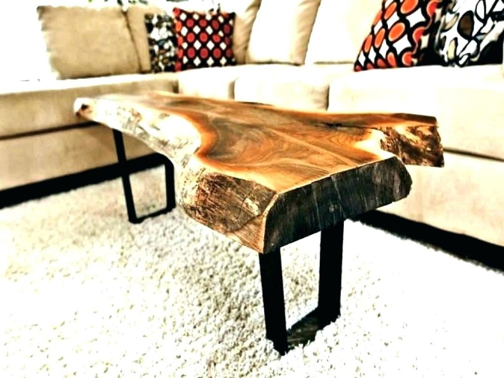 Wood Slice Coffee Table Tree Slice Coffee Table Wood Slice Coffee With Regard To Sliced Trunk Coffee Tables (View 23 of 40)