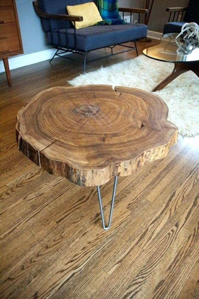 Wood Slice Coffee Table – Vrcriv (View 29 of 40)