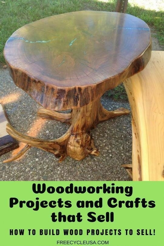 Woodworking Projects And Crafts That Sell – Woodworking, Wood Crafts With Combs Cocktail Tables (Image 40 of 40)