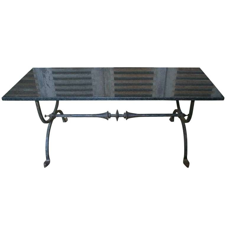 Wrought Iron Coffee Tables Spanish 1940S Wrought Iron Coffee Table Within Spanish Coffee Tables (View 25 of 40)