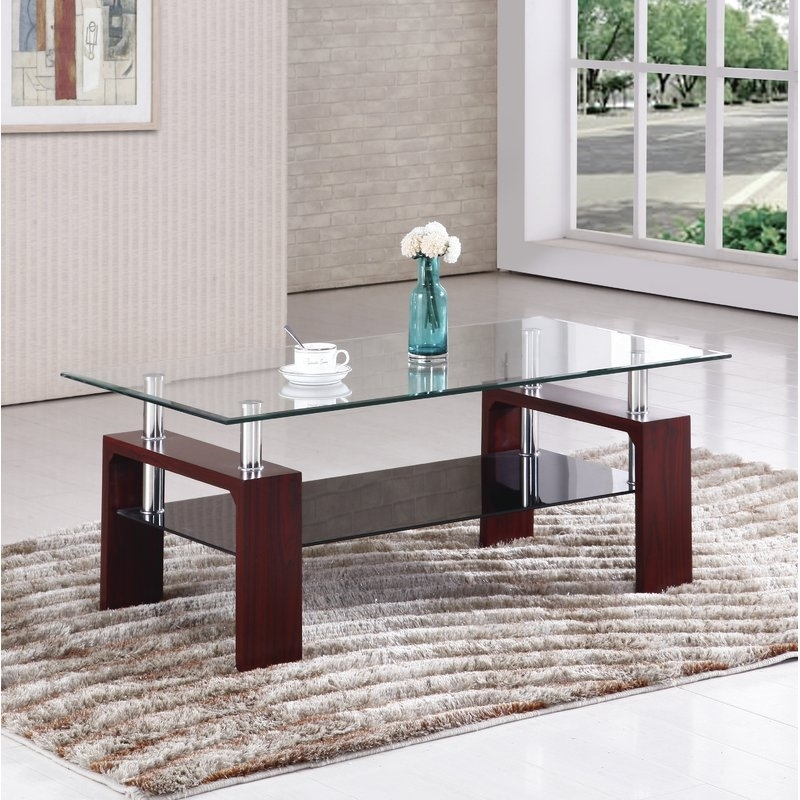 Wrought Studio Palmer Square Coffee Table & Reviews | Wayfair For Palmer Storage Cocktail Tables (Image 37 of 40)