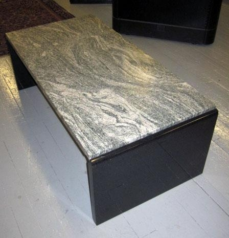 Y5 – New Granite Stone Top Coffee Table – Lexington : Lexington Intended For Stone Top Coffee Tables (Image 40 of 40)