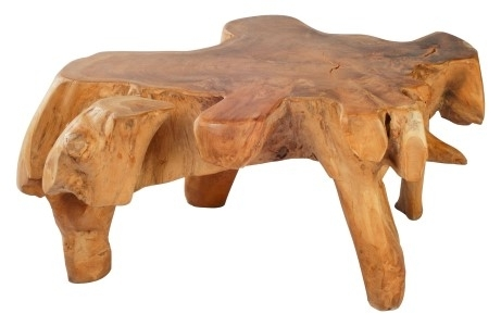 Zuo Pure Furniture Broll Table (Natural & Antique Gold) – Disc With Broll Coffee Tables (View 8 of 40)