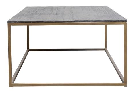 Zylla Coffee Table, Antique Brass Regarding Antique Brass Coffee Tables (View 7 of 40)