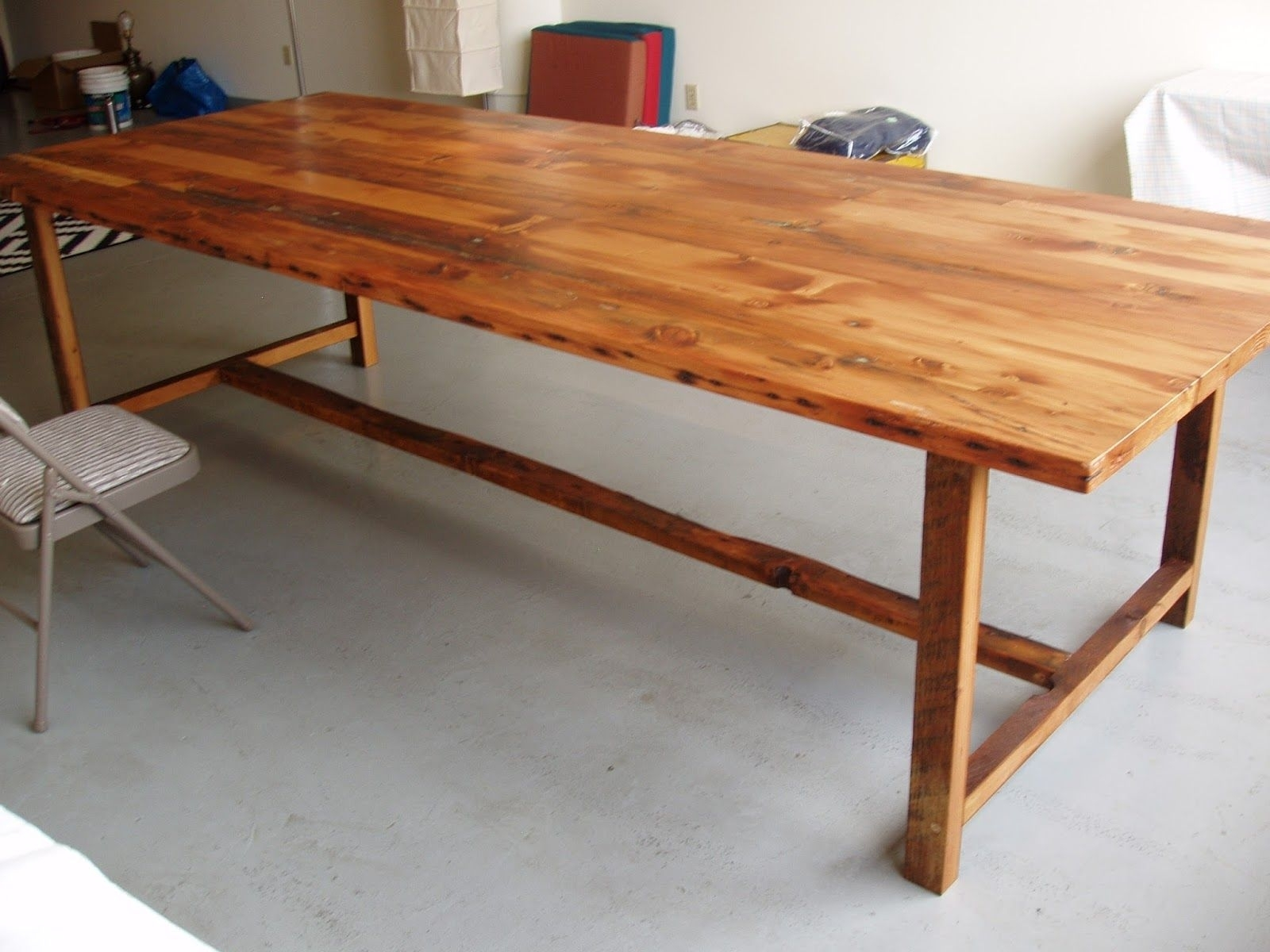 10 Foot Long48 Inch Wide Wood Dining Table | Custom Wood Throughout Most Recently Released Combs 48 Inch Extension Dining Tables (Image 1 of 20)